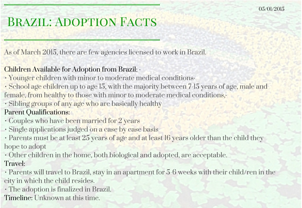 Brazil_ Adoption Facts