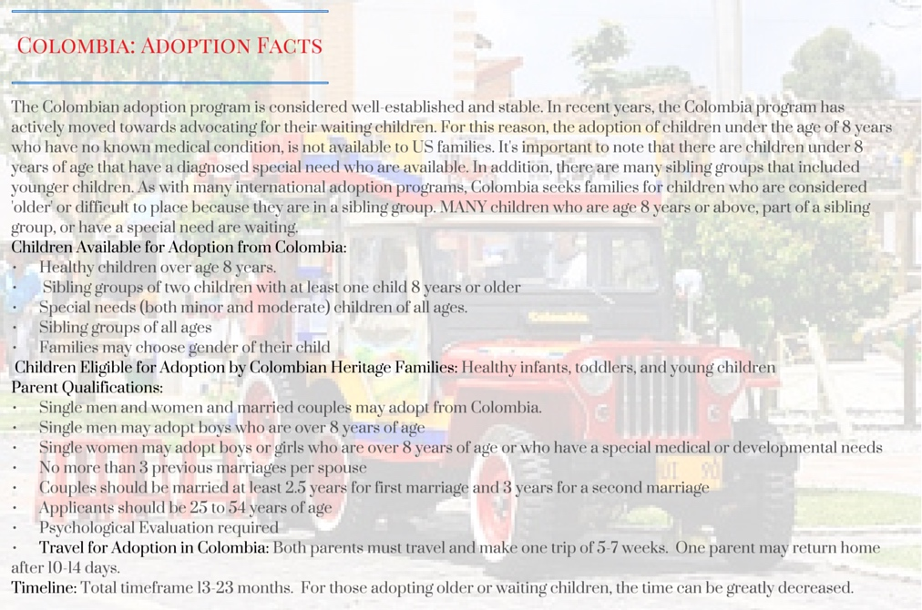 Colombia_ Adoption Facts