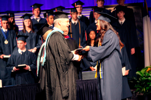 High school graduation in 2014, age 18