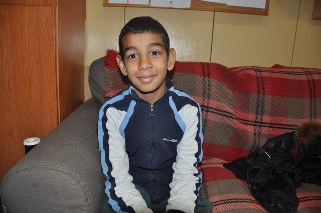 Twelve-year-old Sami