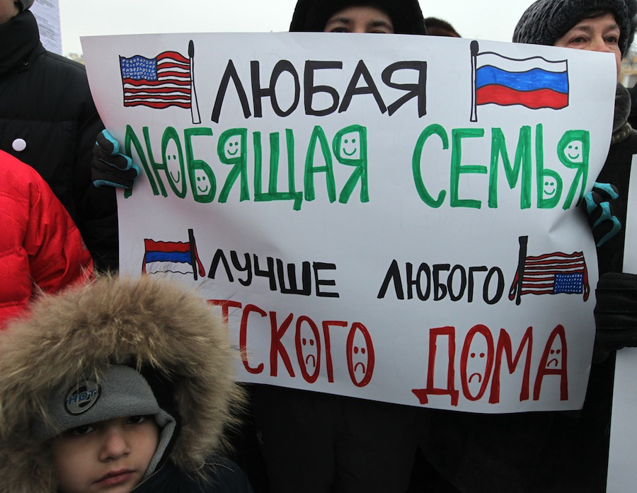 The Yakovlev law sparked outrage across Russia, and in large cities people took to the streets to rally against it.