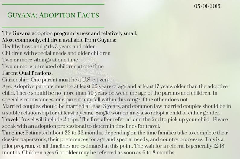 Guyana_ Adoption Facts-2