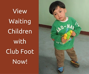 CLUB FOOT ADOPTION