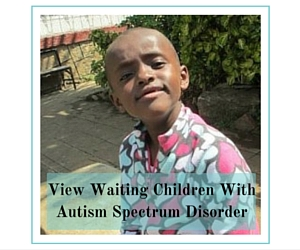 View Waiting Children With Autism Spectrum Disorder
