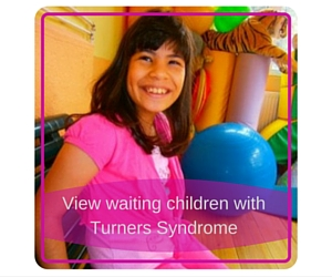 View waiting children with Turners Syndrome